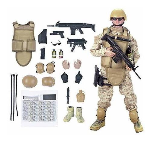 12 '' American Soldiers Special Forces Figuras De Acción