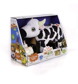 Peluche La Granja De Zenon Vaca Lola 35cm Con Sonido