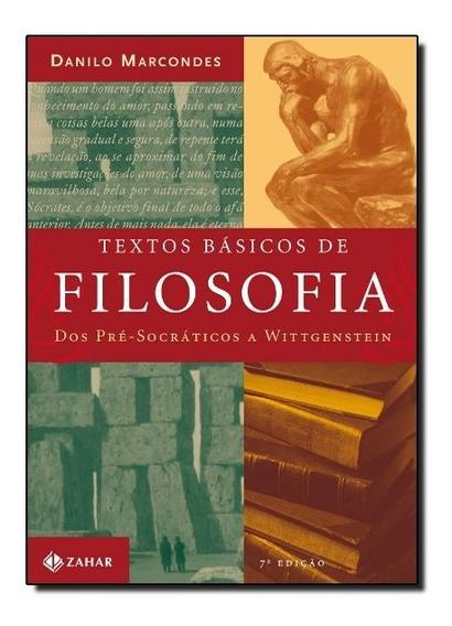 Livro - Textos Básicos De Filosofia Dos Pré-socráticos A Wit