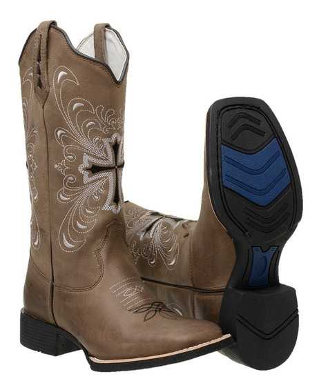 Bota Em Oferta Country Feminino Texana Barato Modelo Novo