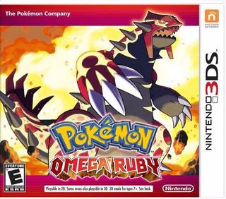 Nuevo Original, Nintendo 3ds Envío Hoy Pokemon Omega Ruby