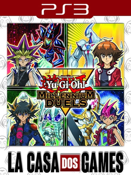 Yu-gi-oh! Millennium Duels - Psn Ps3 - Envio Imediato