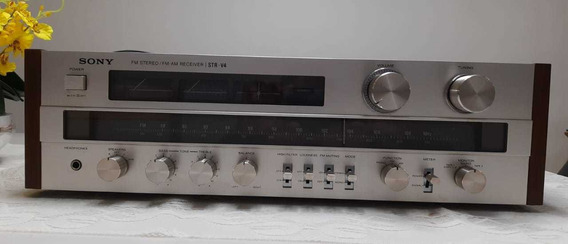 Receiver Sony Str-v4 Impecavel Na Caixa Original