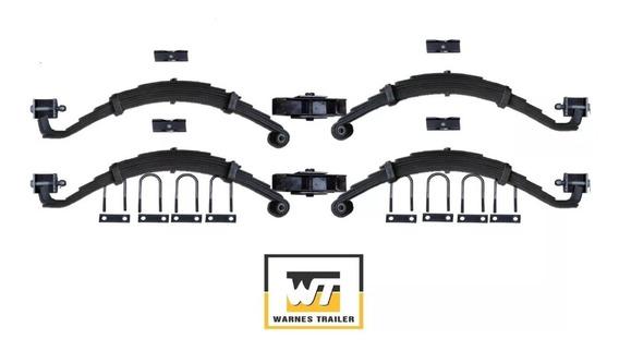 Elasticos Para Trailer 4000 Kg Y Movimiento Kit 17