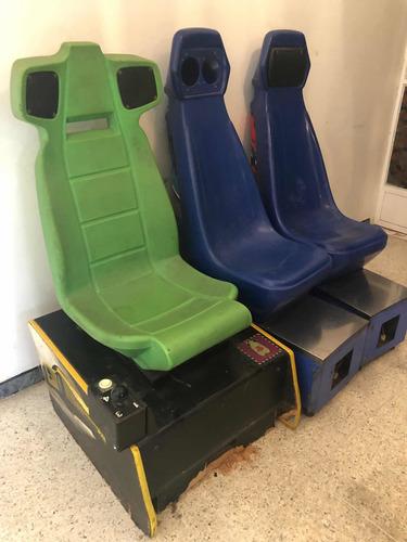 Maquina De Video Juego, Arcade, Usada Asientos Solos