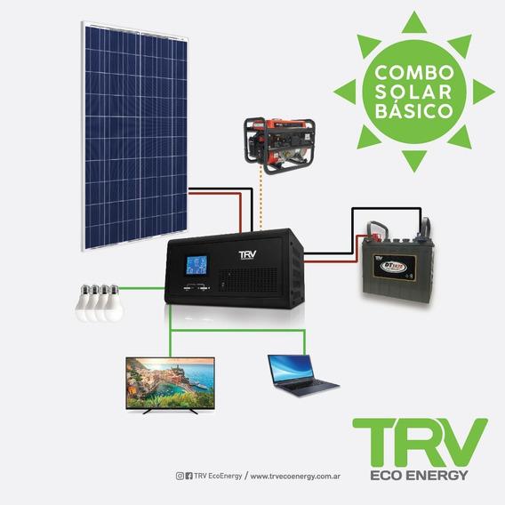 Kit Solar Básico (perfil De Consumo 24 Hs. De Rendimiento)