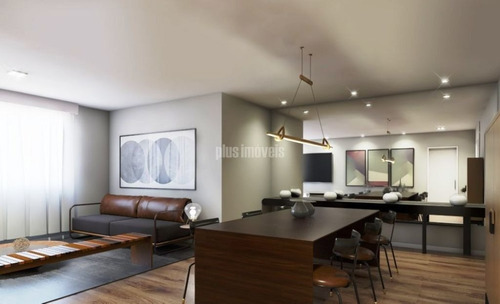 Apartamento Para Comprar Com 3 Quartos E 1 Vaga Em Santa Cecília - Pj53713