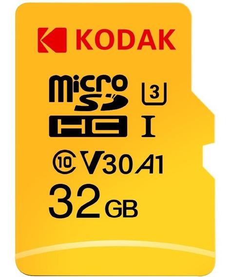 Cartão De Memória Kodak High Speed U3 A1 V30 32gb