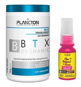 Btx Orghanic 1kg + Oleo Poderoso Da Hora