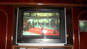 Tv Televisão Tubo Hdtv 720p 1080i Philips Cineos 29 Gamer