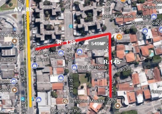 Terreno Residencial À Venda, Setor Marista, Goiânia. - Te0411