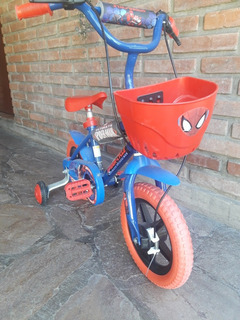 Bicicleta Niño R12 Spider Man Jtd 124011 121300