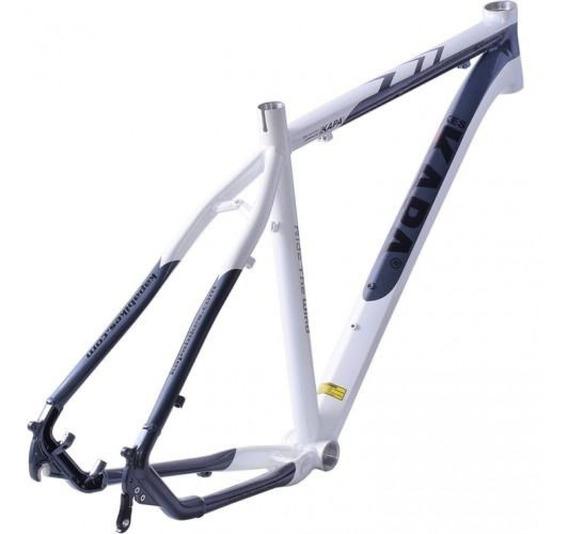 Quadro 29 Sigma Alumínio Branco / Cinza Tam 17 - Kapa Bikes