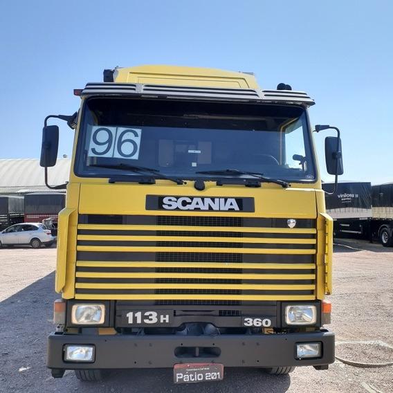 Caminhão Scania R113 H360 Ano 96 + Carreta Sider Randon 2005