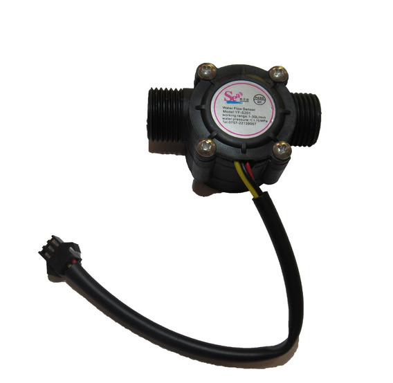 10 Peças Sensor De Fluxo/vazão Água 1/2 Yf-s201 Frete Grátis