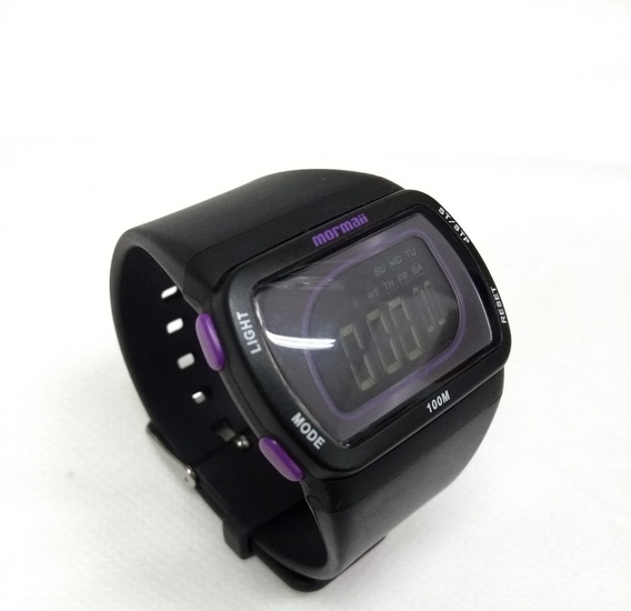 Relógio Feminino Mormaii Hq/8z Pulseira De Silicone- Vltrine