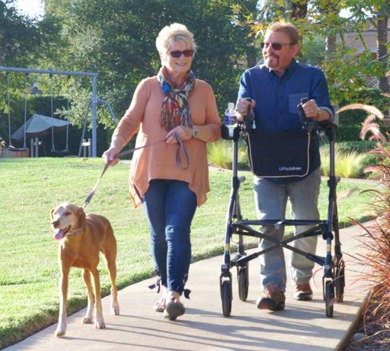 Andadera Caminador Especial Con Descansa Brazos Discapacidad