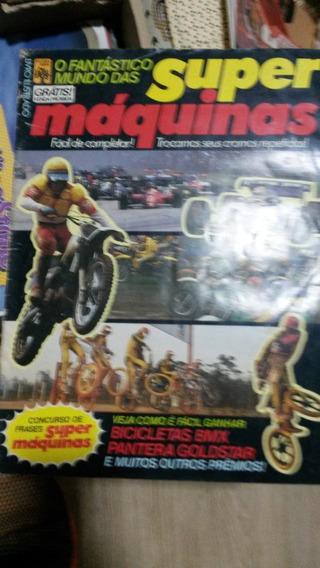 Álbum - O Fantástico Mundo Das Super Máquinas 1986