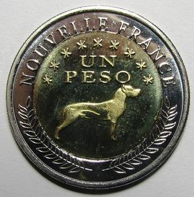 Argentina Bimetalica Araucania Y Patagonia 1 Pesos 2013 Unc