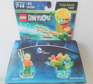 Lego Dimensions - Dc Comics - Acquaman Fun Pack
