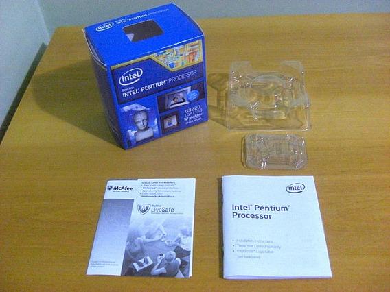 Caixa Do Processador Pentium G3220 Orig. ( Sem Processador )