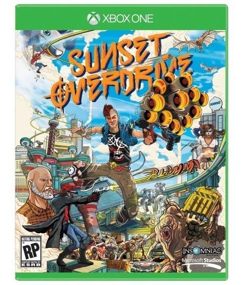 Sunset Overdrive Xbox One Mídia Física Novo