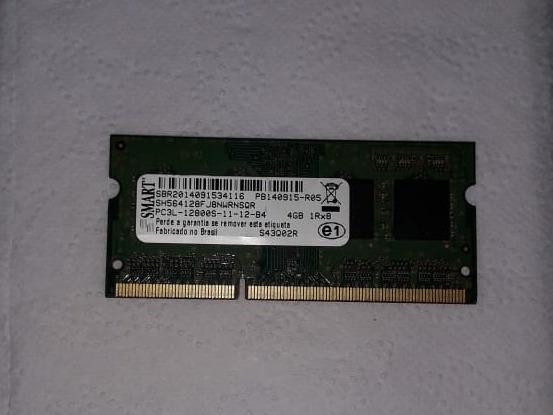 Memória Ram Smart Ddr3 Notebook