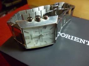Relógio Orient, Cronômetro, Raríssimo, Retrô, Puro Aço.