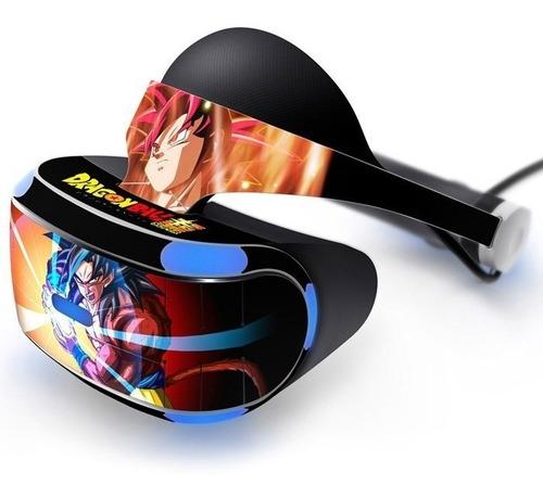 Adesivo Vinil Dragon Ball Oculos Vr Zvr2 Playstation Ps4