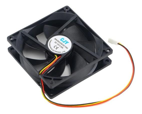 Micro Ventilador 90x90 25mm Fan Cooler 12v