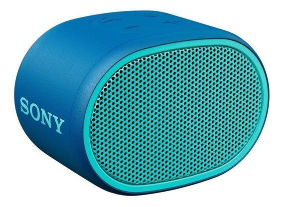 Caixa De Som Bluetooth Srs-xb01 Sony Portátil Azul