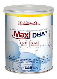 Omega-3 Maxi Dha Naturalis 120 Cápsulas