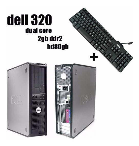 Dell Optiplex 320 Dual Core 2gb Hd 80gb + Teclado Original