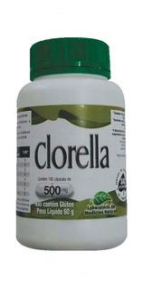 1 Clorella Pyrenoidosa 100 Cápsulas 500 Mg Medinal