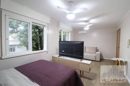 Apartamento Jk Amplo À Venda, 35 M² Por R$ 155.000 - Nonoai - Porto Alegre/rs - Ap2087