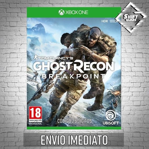 Ghost Recon Breakpoint Código 25 Dígitos Xbox One Cd Key
