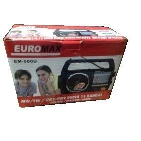 Radio Portatil 11 Bandas Euromax Em-580u
