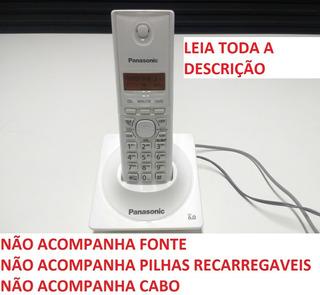 Funcionando* Telefone S/fio Panasonic Kx Tg1711 S/acessorios