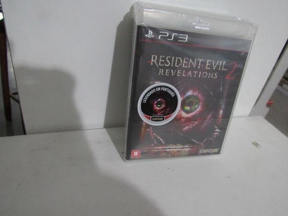 Resident Evil Revelations 2 Ps3 Mídia Física Novo Lacrado
