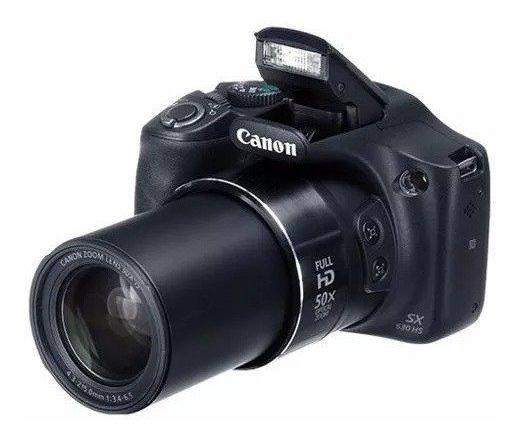 Câmera Canon Semi Profissional Sx530hs