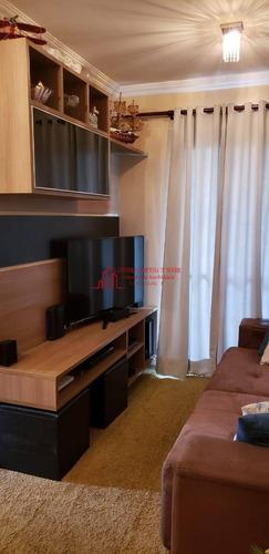 Apartamento Para Venda Rudge Ramos 3 Dorm - 1446