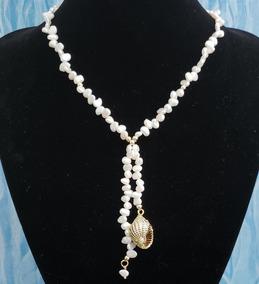 135946ea5d06 Collar De Perlas De Caracol en Mercado Libre México