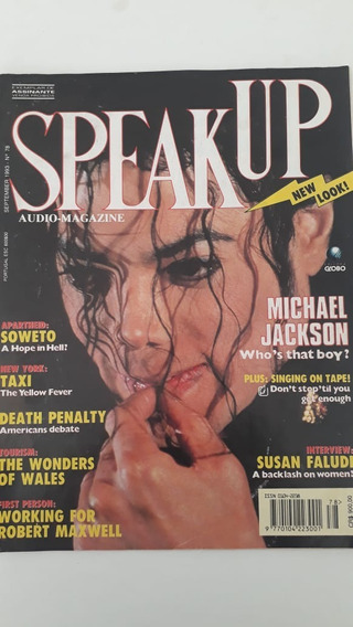 Revista Speak Up Nº 78 Capa Michael Jackson Setembro 1993