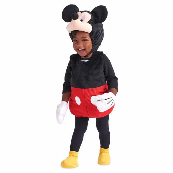 Traje Mickey Mouse Disfraz Bebe 18-24 Meses Disney Store