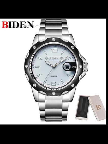 Relógio Biden Em Aço