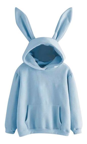 Sudadera Hoodie Conejo, Colores Varios , Suave De Calidad