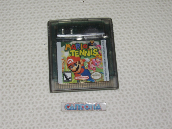 Mario Tennis Original Game Boy Color