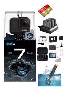Gopro Hero 7 Black + Microsd Sandisk 128gb Kit Accesorios