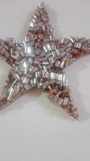 099-2531 Aplique Estrella Canutillo Dorado Por 50unidades