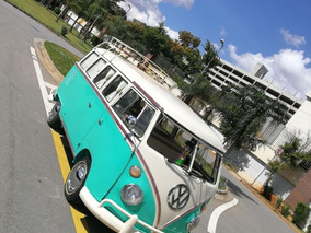Volkswagen Kombi Antiga Camper Corujinha T1